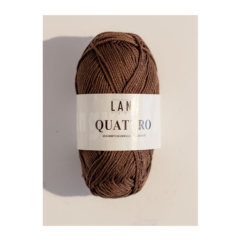 Lang Yarns Quattro marron D