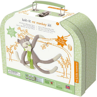 Kit tricot enfant singe The Little Experience