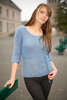 Pull femme col rond mohair Jade