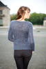 Pull col rond laine mohair et soie Louise