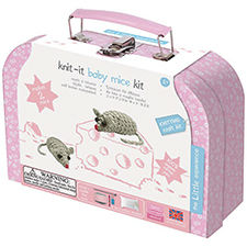 Kit tricot enfant souris The Little Experience